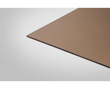 Монолитный Поликарбонат КОЛИБРИ 4,0x2050x1525 бронзовый 40%