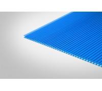 Сотовый поликарбонат Полигаль 10,0x2100x3000 синий 30% ГОСТ
