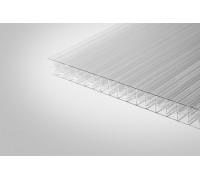 Сотовый поликарбонат Полигаль 10,0x2100x12000 прозрачный  ГОСТ